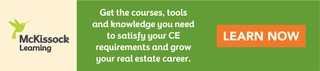 Complete your California real estate continuing education courses.